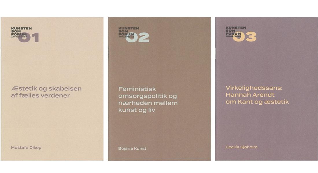 Kunsten som Forum bogserie